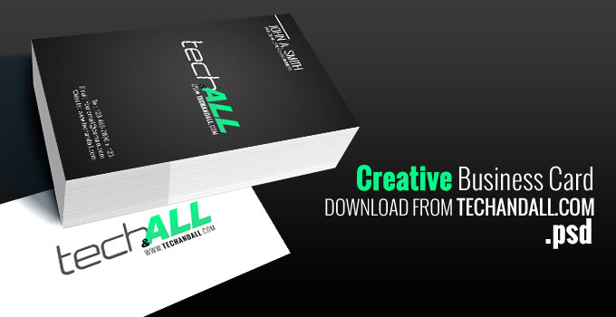 TechAndALL_Creative-Business-Card