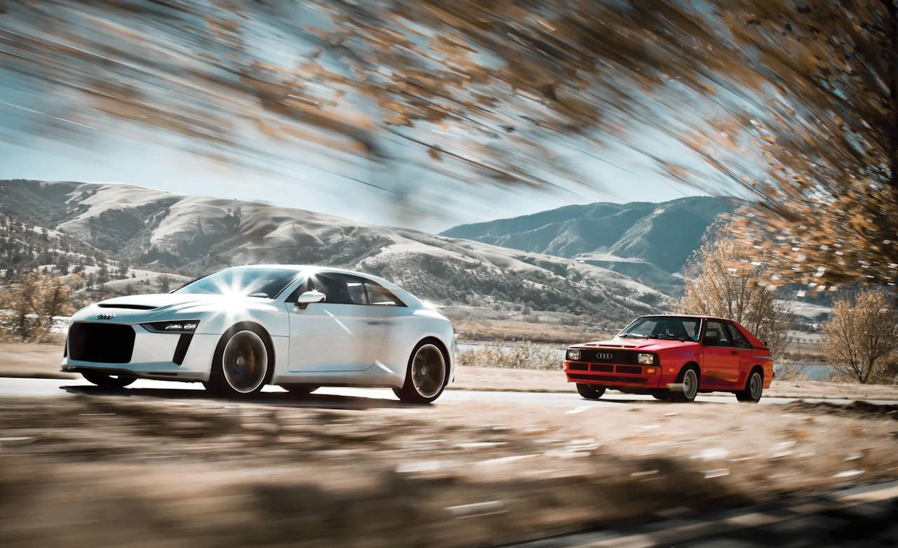 Audi Sport Quattro Concept Welcome To Tech Amp All