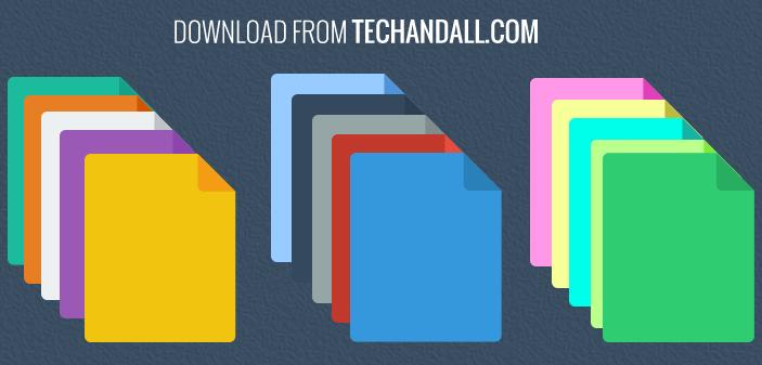 flat-color-folders