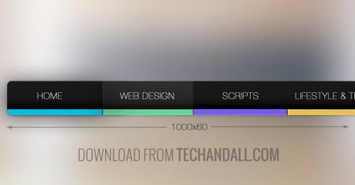 TechAndAll_FlatColor_Carbon_Nav_bar2