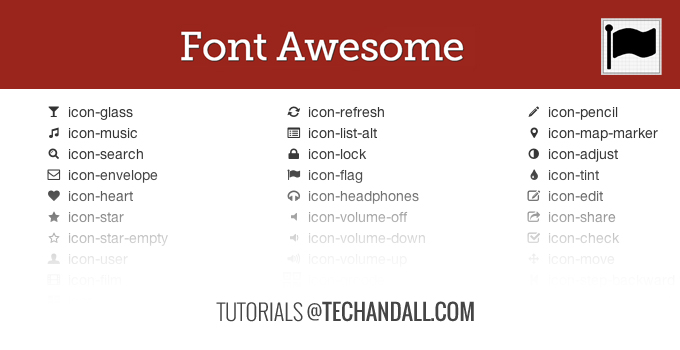 font-awesome_tutoral