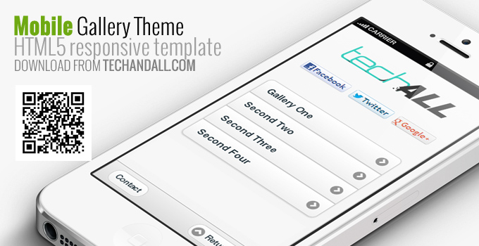mobilegallerythemebytechandall