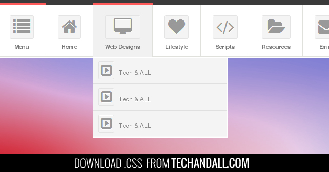 techandall_CSS_DropdownMenu_onTOP_preview