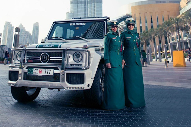 700 Hp Brabus Mercedes G63 Amg Part Of Dubai Police Car Welcome To Tech Amp All