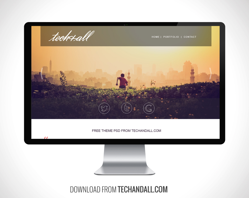 techand_portfolio_theme_preview