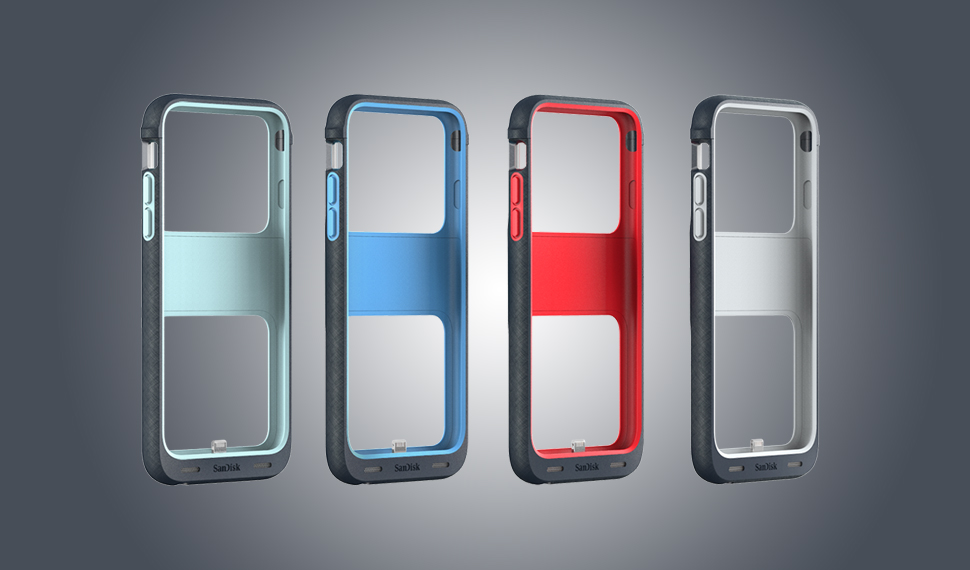 iPhone Case with Built-in Storage By SanDisk