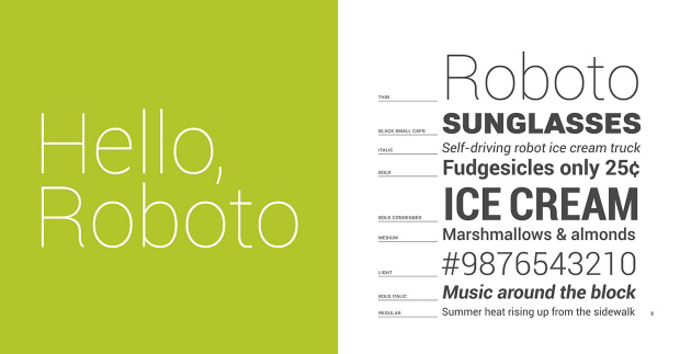 google-roboto-font