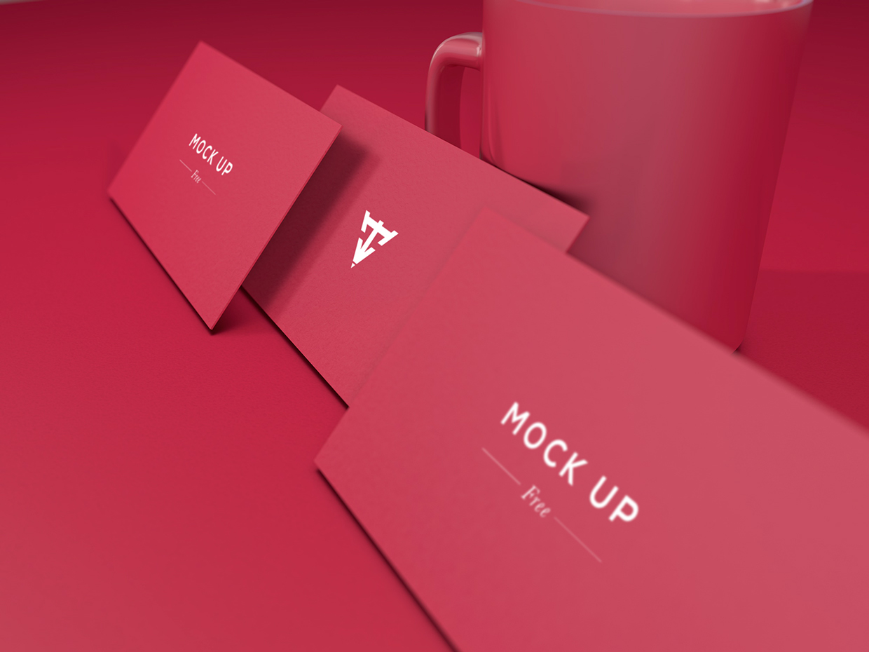 6 Business Cards Mock Up – Welcome to Tech & ALL