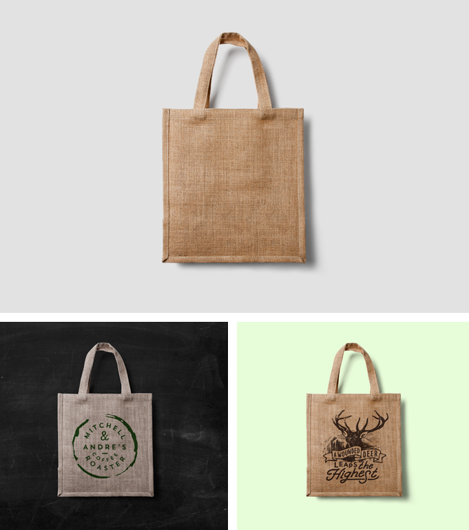Mock Ups Web Designs Eco Bag Mockup