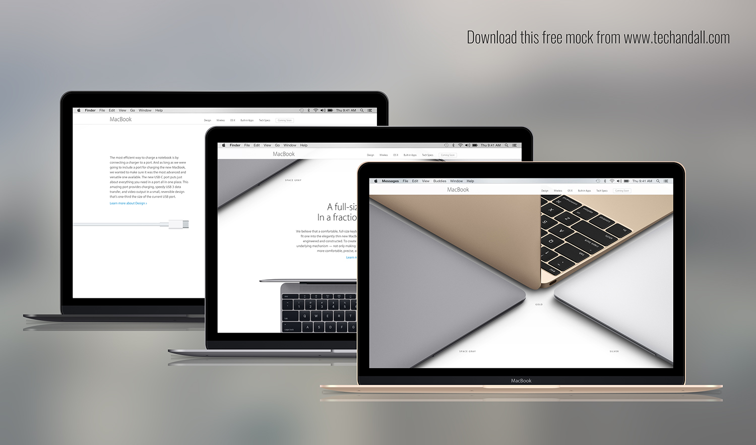 The New MacBook Mockup – Welcome to Tech & ALL