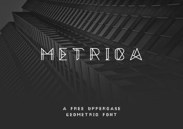 metrica_font