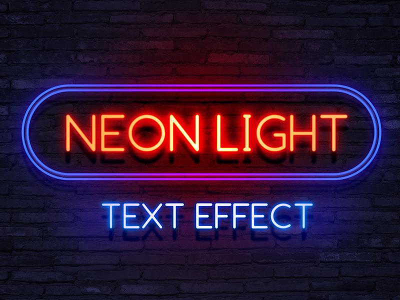 neon-light-text-effect