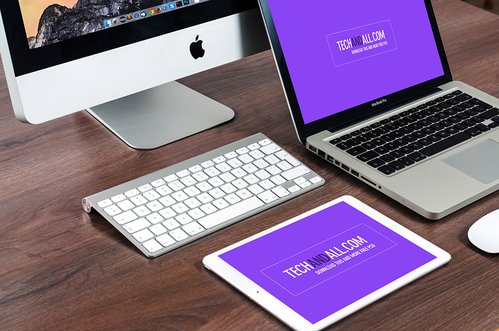 MacBook-iPad-PSD