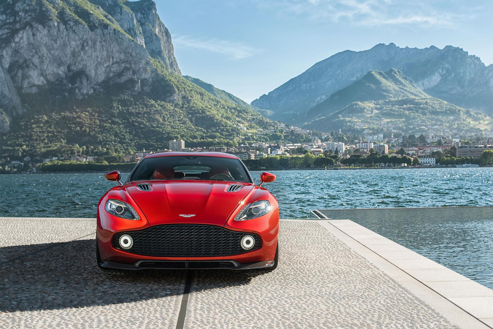 Aston Martin Vanquish Zagato Tech ALL - New aston martin zagato