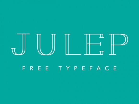 julep_free_font-580x435