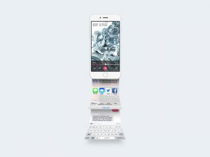 IPhone App Presentation Mockup PSD 2