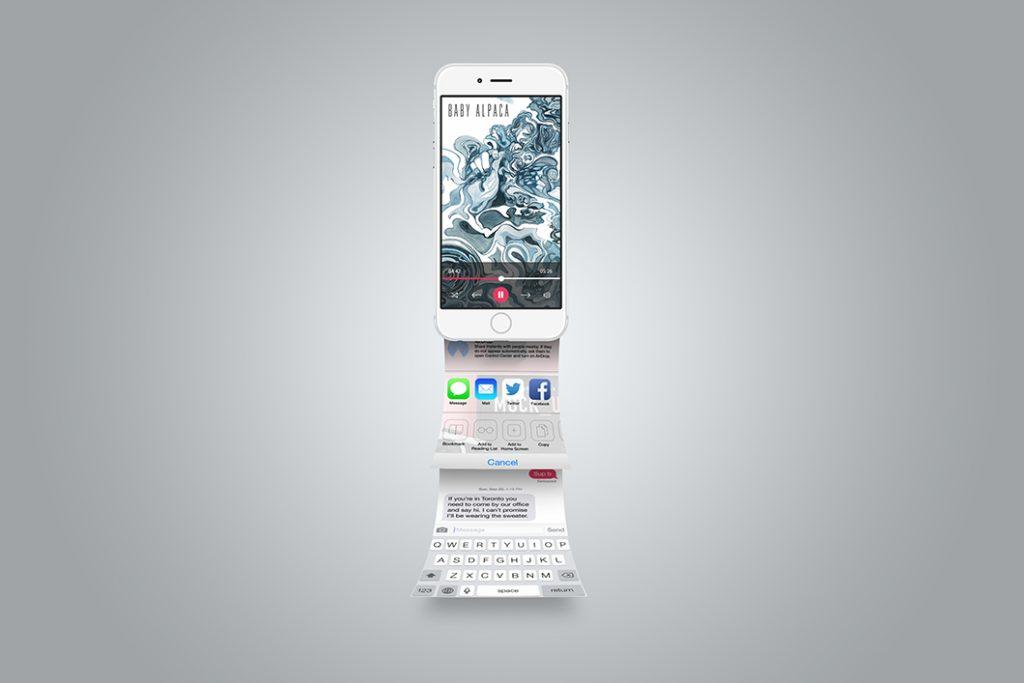 iPhone App Presentation Mockup