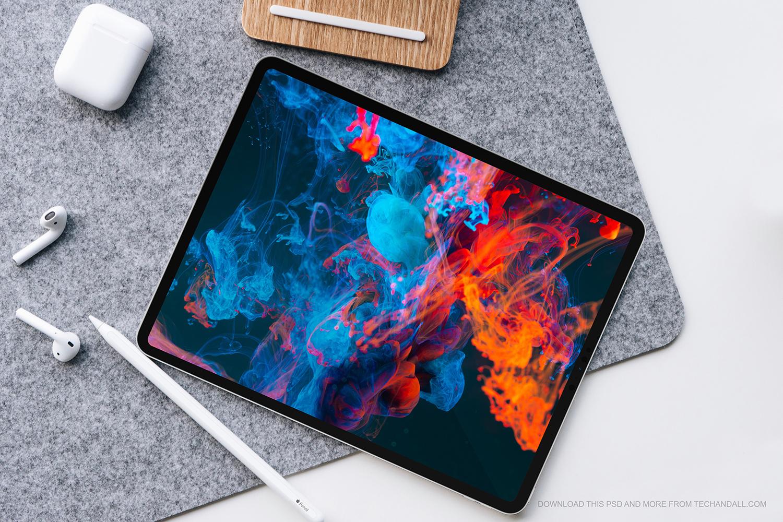 Apple iPad Pro 2021 Mockup – Tech & ALL
